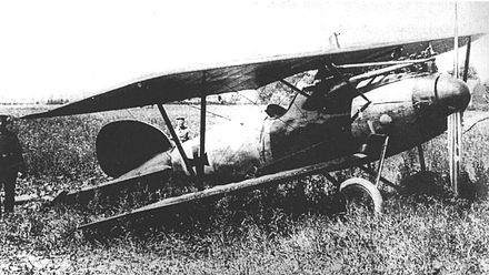 Richthofen's Albatros D.V after forced landing near Wervik. This machine is not an all-red one DVa2.jpg