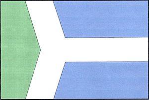 Daňkovice - Image: Daňkovice flag
