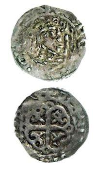Silver penny of David I.