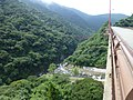 Daiichi Shirakawa bridge from Aso Choyo bridge.jpg