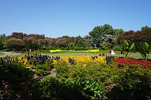 Dallas Arboretum and Botanical Garden - Jonsson Color Garden