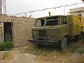Damaged GAZ-66 truck.jpg