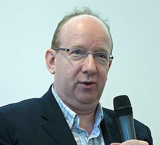 Daniel Finkelstein - Finkelstein speaking in 2012