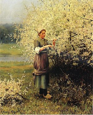 English: Daniel Ridgway Knight (1839-1924), &q...