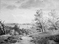Dankvart Dreyer - Road in a Hilly Landscape - KMS1679 - Statens Museum for Kunst.jpg