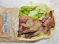 Daphne's California Greek Gyro Pita Sandwich close up (20881850698).jpg
