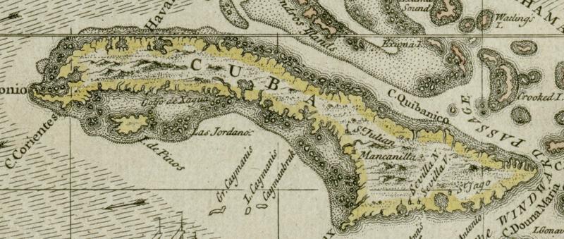 Darlington map of Cuba 1680.png