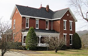 Cordell Hull - The Davis-Hull House in Carthage, Tennessee. The house was built by merchant Calvin Davis in 1889, and purchased by William Hull (the father of Cordell Hull) in 1906.