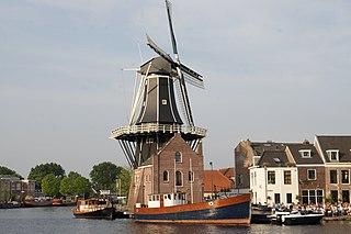 De Adriaan, Haarlem mill museum in Haarlem, the Netherlands
