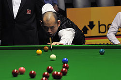Dechawat Poomjaeng at Snooker German Masters (DerHexer) 2013-01-30 03.jpg