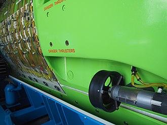 Deepsea Challenger - Image: Deepsea Challenger Thruster