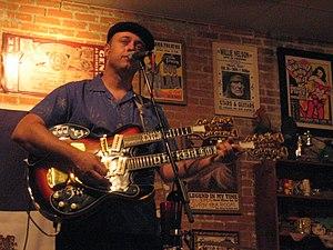 Deke Dickerson - Deke Dickerson in 2008.