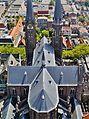 Delft Blick von der Nieuwe Kerk auf die Maria-van-Jessekerk 10.jpg