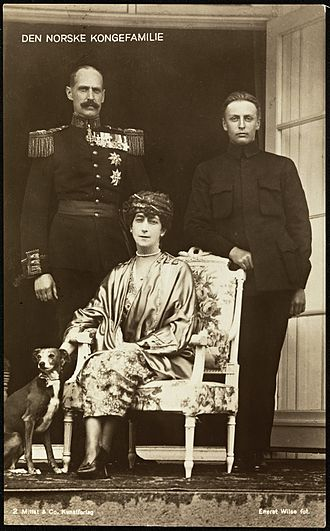 Olav V of Norway - The Norwegian Royal Family in 1921