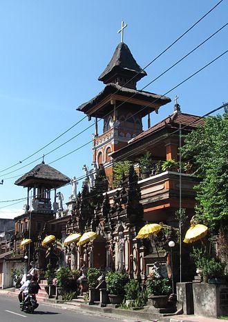 Christianity in Indonesia - Saint Joseph's Catholic Church, Denpasar, Bali