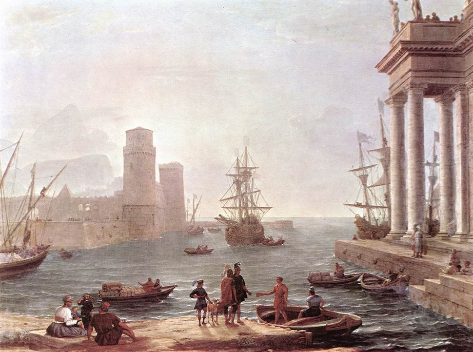 Departure of Ulysses from the Land of the Pheacians