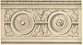 Design for a Frieze, Ornamented with Lion's Head Paterae MET DP821151.jpg