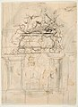 Design for a sepulchral monument; verso- Design for a sepulchral monument MET DP812741.jpg
