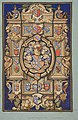 Design for a stained glass window with heraldic designs for the Chateau Mouchy (Oise) MET DP811325.jpg