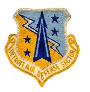 Custer Air Force Station - Emblem of the Detroit Air Defense Sector