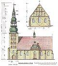 Deutsche Kirche Tilsit (Seitenriss).jpg