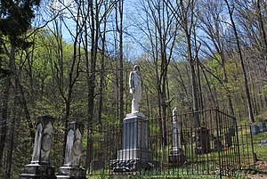 National Register of Historic Places listings in Logan County, West Virginia - Image: Devil Anse Hatfield Grave