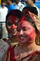 Devotees - Durga Idol Immersion Ceremony - Baja Kadamtala Ghat - Kolkata 2012-10-24 1376.JPG
