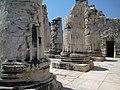 Didyma, Turkey, Temple of Apollon, ruined columns.jpg