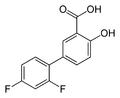 Diflunisal-2D-skeletal.png