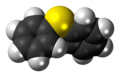 Diphenyl sulfide molecule spacefill.png