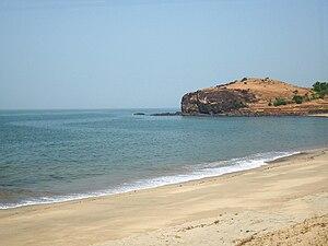 Diveagar - Another view of Diveagar beach