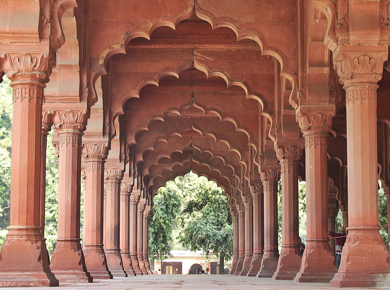 File diwan i aam red fort delhi wikipedia for Diwan i aam images
