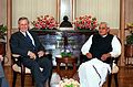 Donald H. Rumsfeld meets with Indian Prime Minister Atal Bihari Vajpayee.jpg