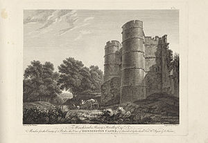 Donnington Castle - Image: Donnington castle by BYRNE, WILLIAM GMII