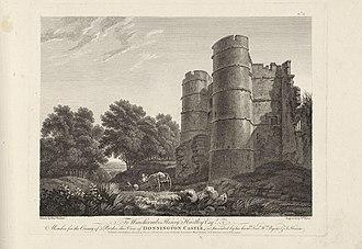 Donnington Castle - Image: Donnington castle by BYRNE, WILLIAM GMII