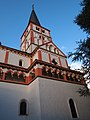 Doppelkirche St. Clemens Glockenturm.jpg