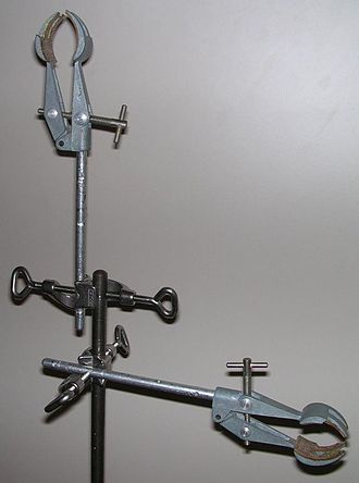 Clamp holder - Using a clamp holder to hold clamps at different angles