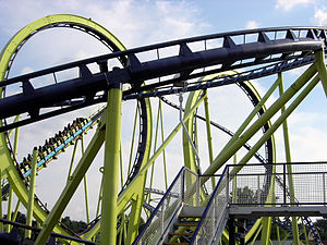 Teststrecke - An image of Teststrecke when it was Laser (previously Colossus) at Dorney Park & Wildwater Kingdom.