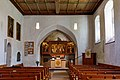 Dornstadt Scharenstetten Laurentiuskirche Kirchenschiff 2020 05 16.jpg