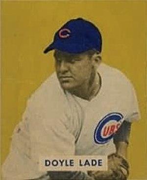 Doyle Lade - Lade's 1949 Bowman Gum baseball card