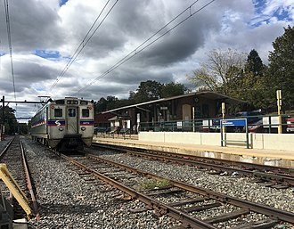 Doylestown station - Doylestown station in October 2017