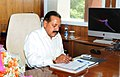 Dr. Jitendra Singh taking charge as the Minister of State (Independent Charge) for Science and Technology and Earth Sciences, in New Delhi on May 28, 2014.jpg