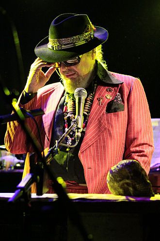 Dr. John - Dr. John performing at Le Poisson Rouge, New York City, 2011.