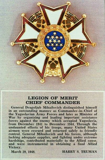 DražaLegion of Merit