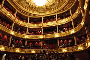 Bragernes - Interior of Drammen Theater