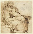 Drawing, Figure with Child, 1550 (CH 18126783).jpg