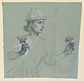 Drawing, study of a costumed figure, ca. 1890 (CH 18404409).jpg