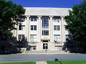 National Register of Historic Places listings in Drew County, Arkansas - Image: Drew County Courthouse 004