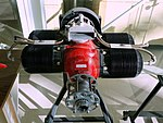 Drone engine (unspecified) - Evergreen Aviation & Space Museum - McMinnville, Oregon - DSC00484.jpg