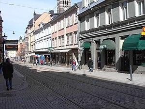 Norrköping - Drottninggatan (Queen's Street) in Norrköping